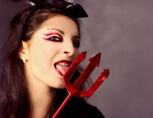 小悪魔女子