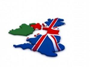 イギリス旅行地図